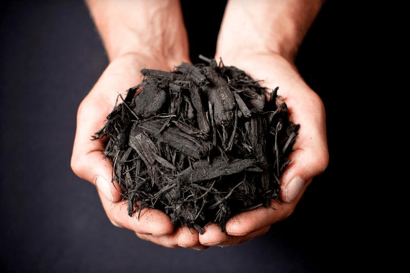 best black mulch