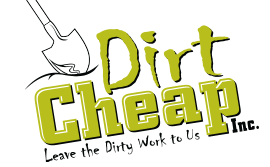 Dirt Cheap | Soil, Aggregates, Grass Seed, Mulch Delivery Kitchener Logo